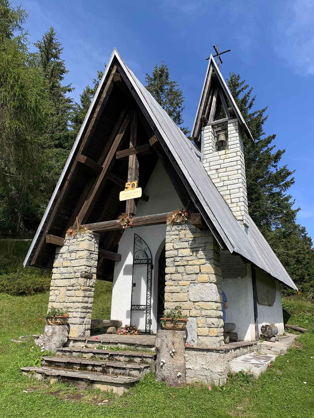 Pian dei Buoi - chiesetta Madonna del Ciareido
