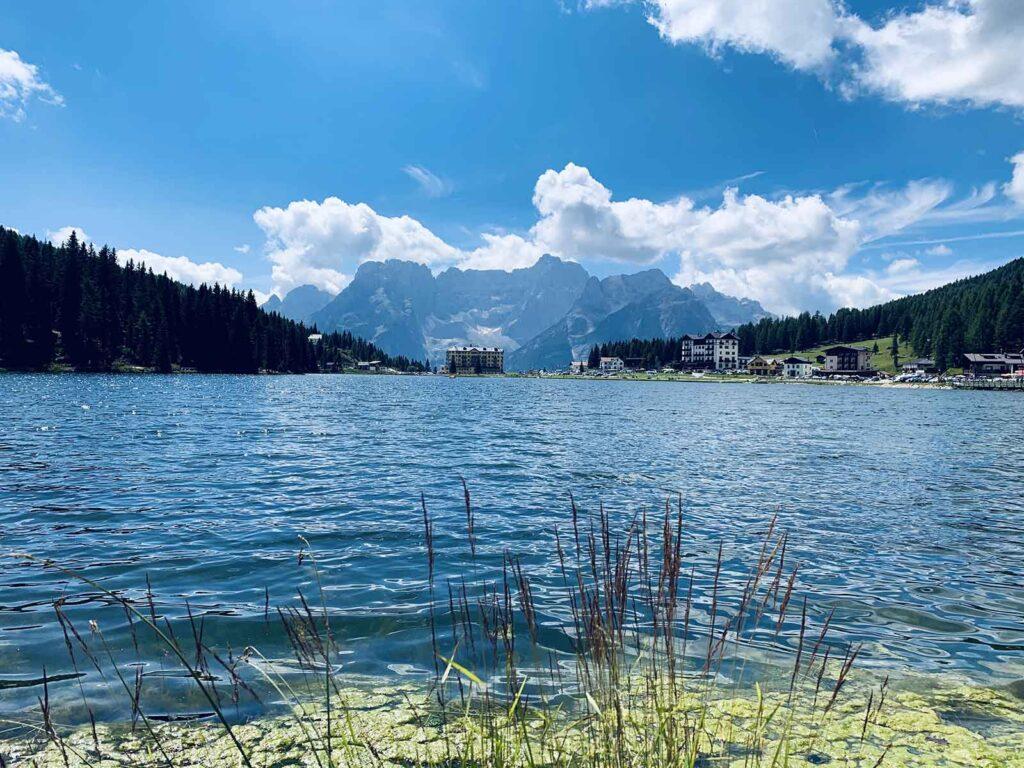 Vista dal Lago di Misurina