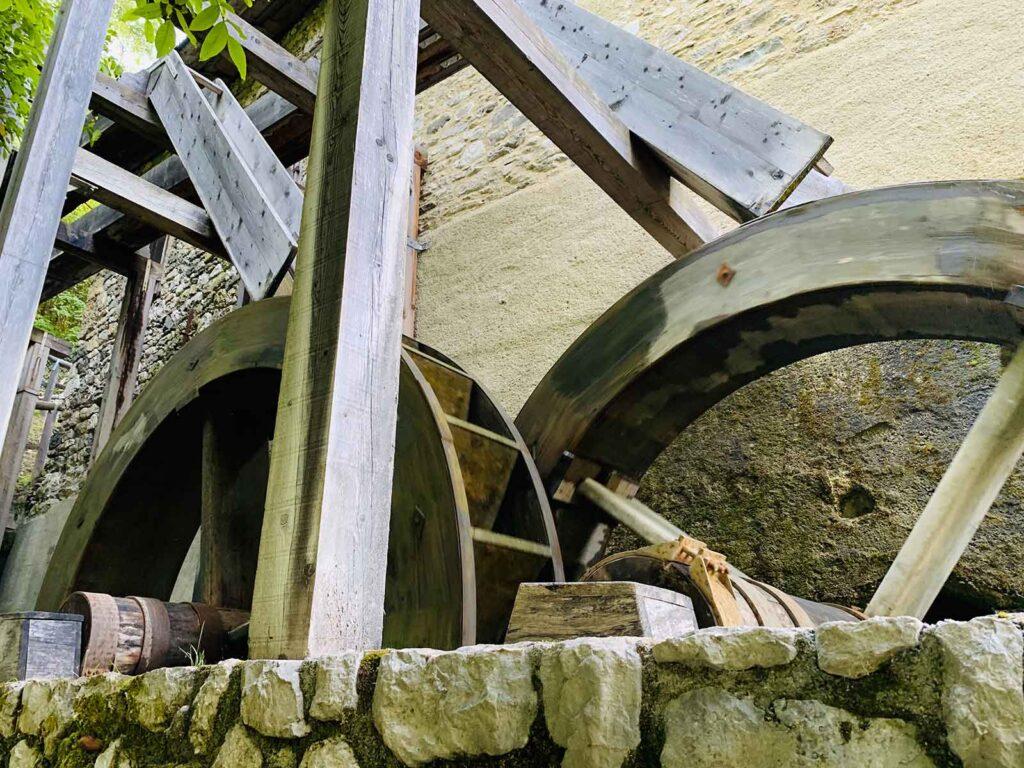 La ruota del mulino a Lozzo di Cadore