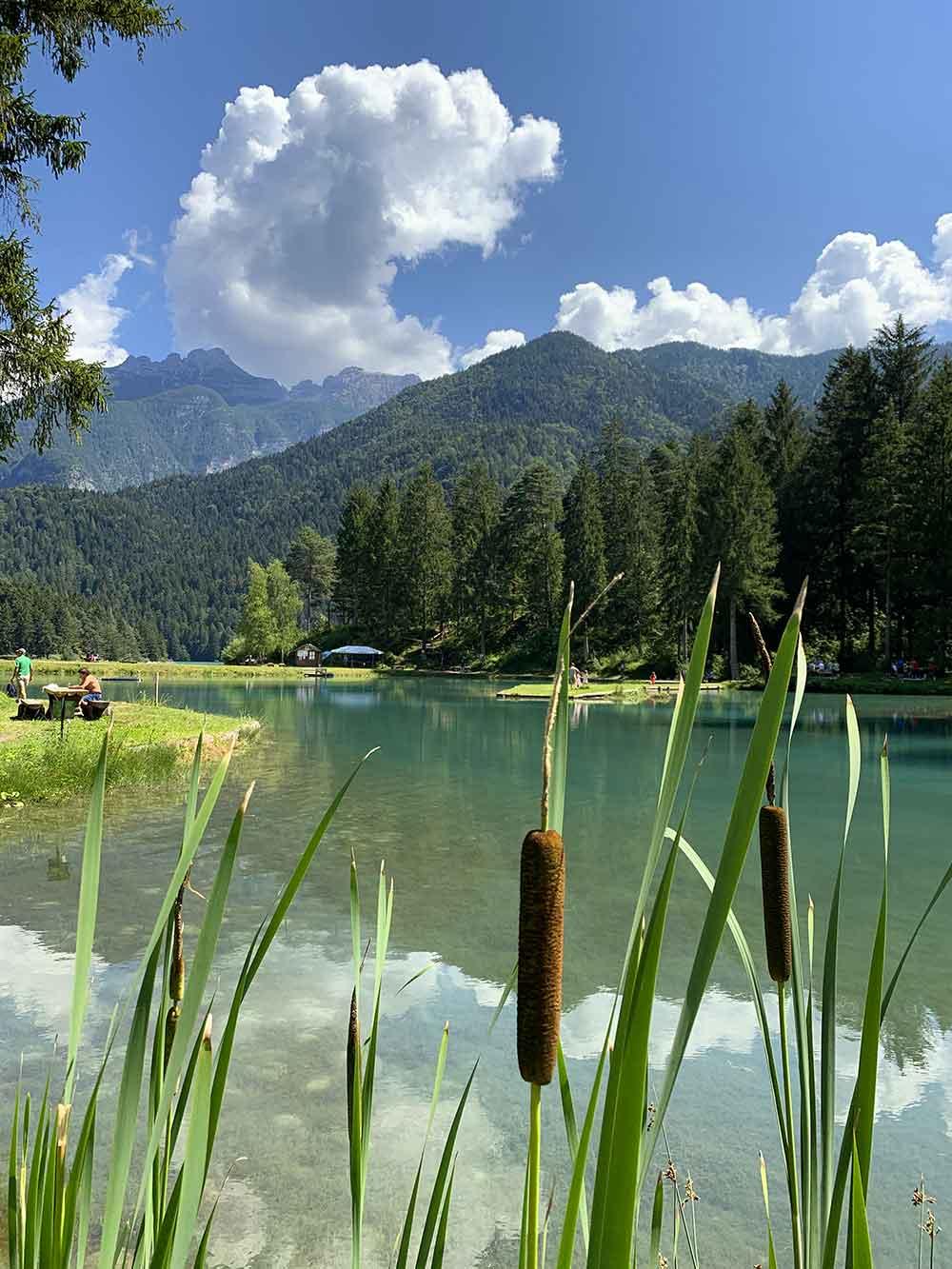 Lago di mezzo Cadore