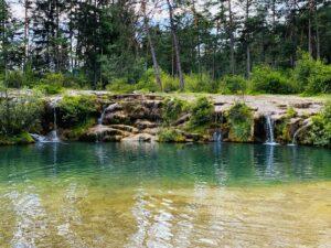 Lago delle Tose a Calalzo di Cadore