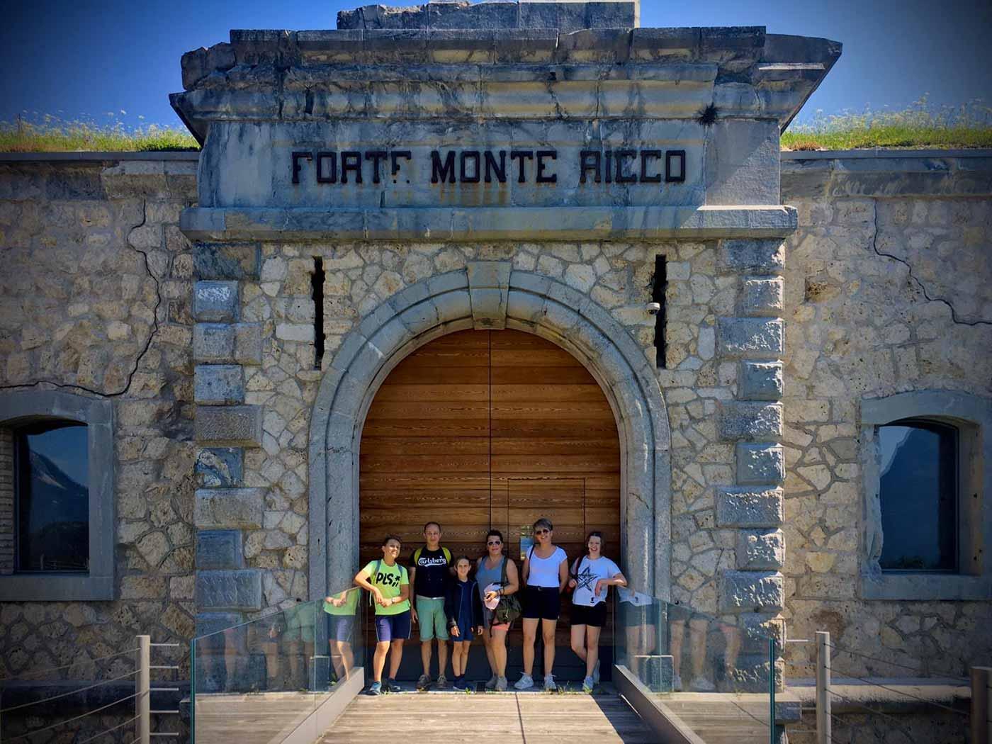 Forte di Monte Ricco - ingresso