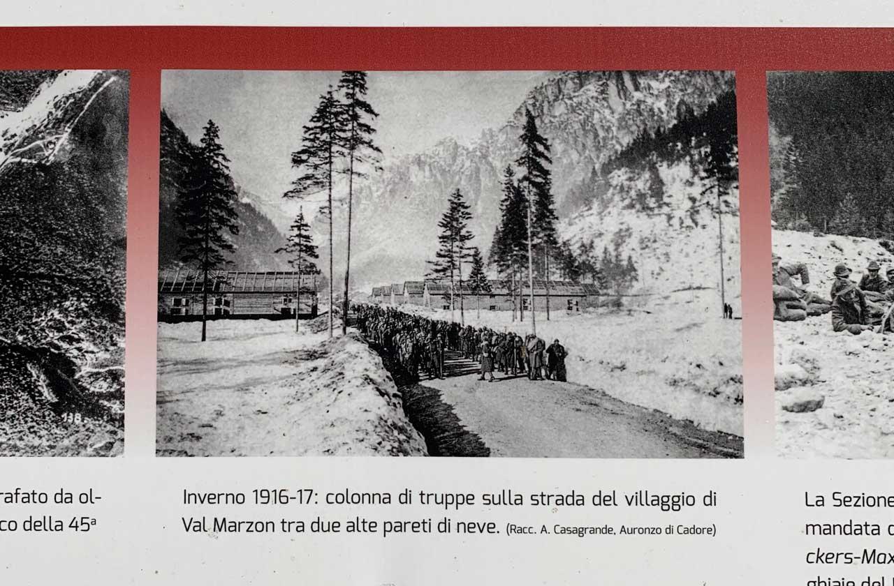 Auronzo-storia-Val-Marzon-foto-storiche-militari grande guerra