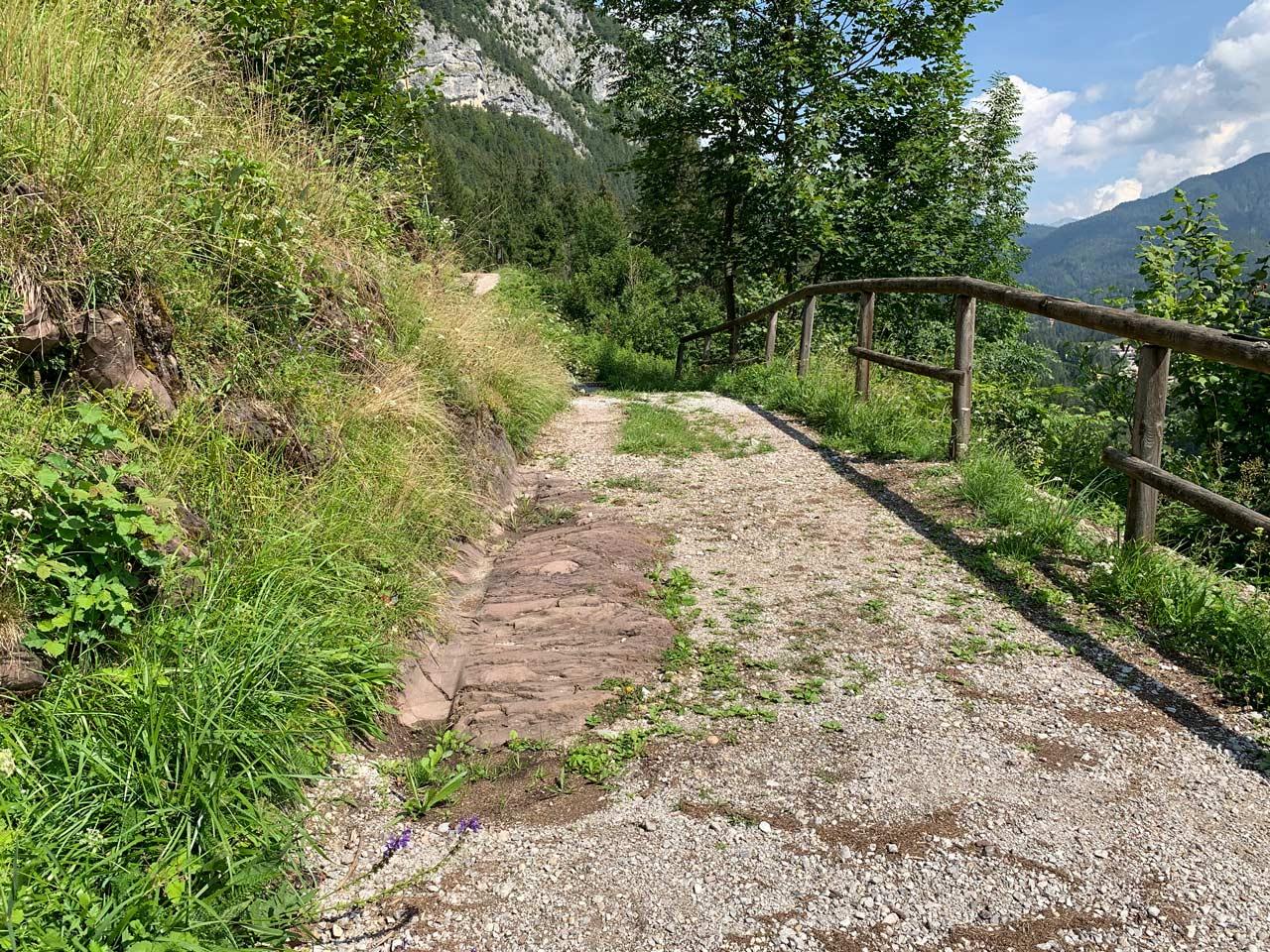 lozzo-cadore-antica-strada-romana-reperti