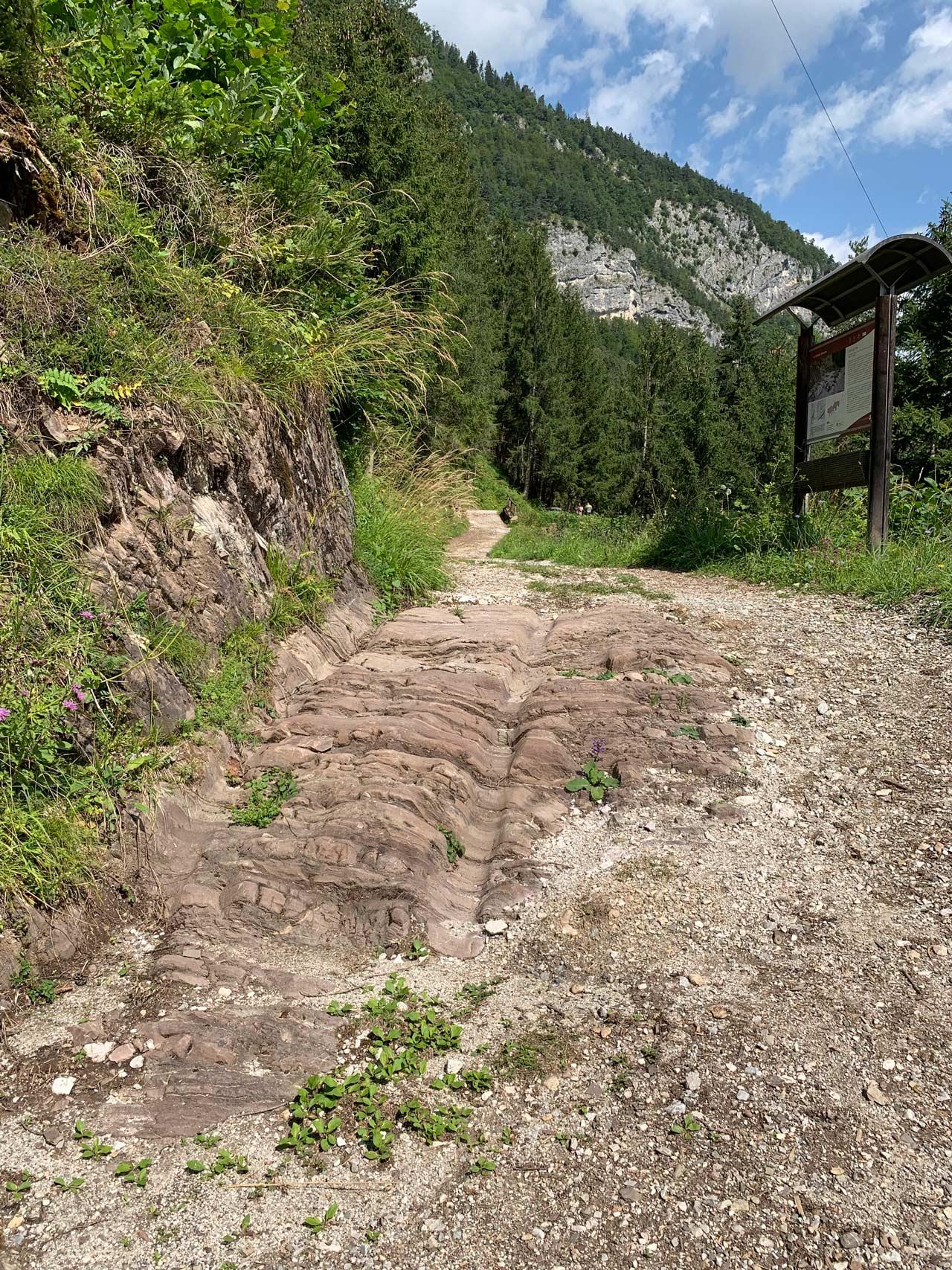 lozzo-cadore-ritrovamenti-antica-strada-romana