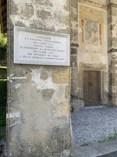 Auronzo di Cadore vista Chiesa Santa Caterina