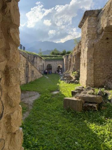 Forte di Monte Ricco - esterni
