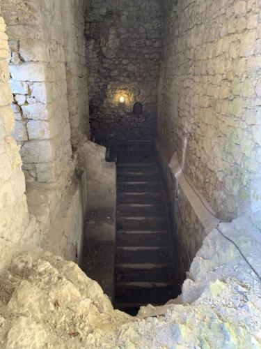 Forte di Monte Ricco - interni