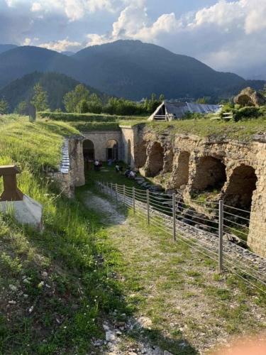 Forte di Monte Ricco - patio interno