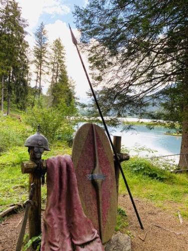 Scultura romano al Lago delle Tose